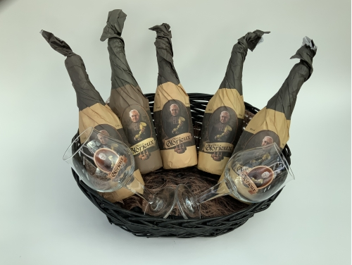 SMALL GIFT BASKET - 5 BOTTLES